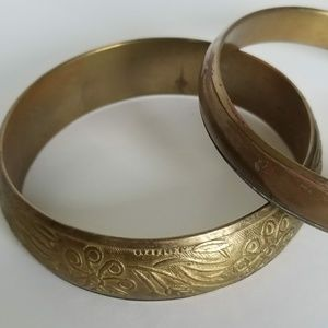 Brass-like Cuff Bracelets